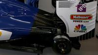 Zadní čášst vozu Sauber C35 - Ferrari v Melbourne