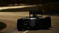 Felipe Massa při závodě v Melbourne