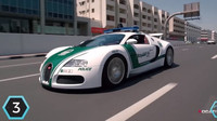 """Na třetím místě našeho žebříčku se umístilo Bugatti Veyron, které z policejního rozpočtu Spojených arabských emirátů """"vysálo"""" 1,6milionu dolarů (cca. 38 400 000 Kč)."""