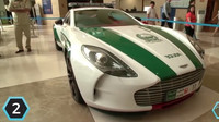 Druhé místo obsadil jedinečný Aston Martin One-77 s cenou 1,8 milionu dolarů (43,2 milionu korun).
