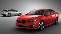Pátá generace Subaru Impreza vypadá, i v porovnání s konceptem, velice povedeně.