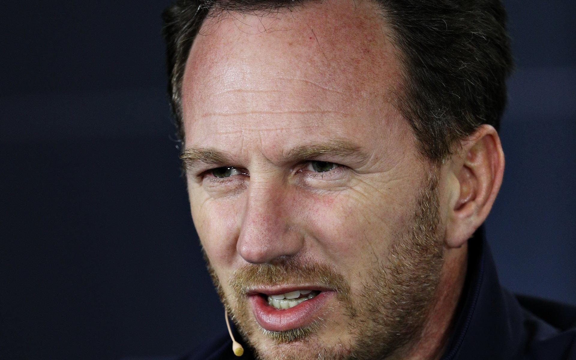 Šéf Red Bullu Christian Horner