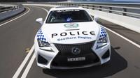 Nový Lexus RC-F australské policie
