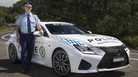 Lexus RC-F australské policie