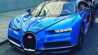 Bugatti Chiron na ulici v New Yorku