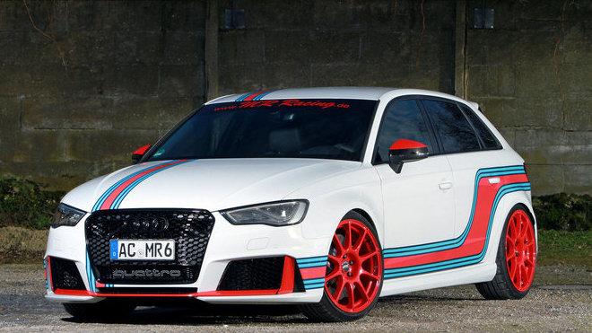 Audi RS3 Sportback po zásahu společnosti MR Racing