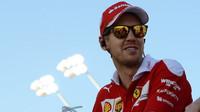 Sebastian Vettel v Bahrajnu