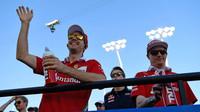 Sebastian Vettel a Kimi Räikkönen v Bahrajnu