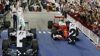Nico Rosberg po závodě v Bahrajnu