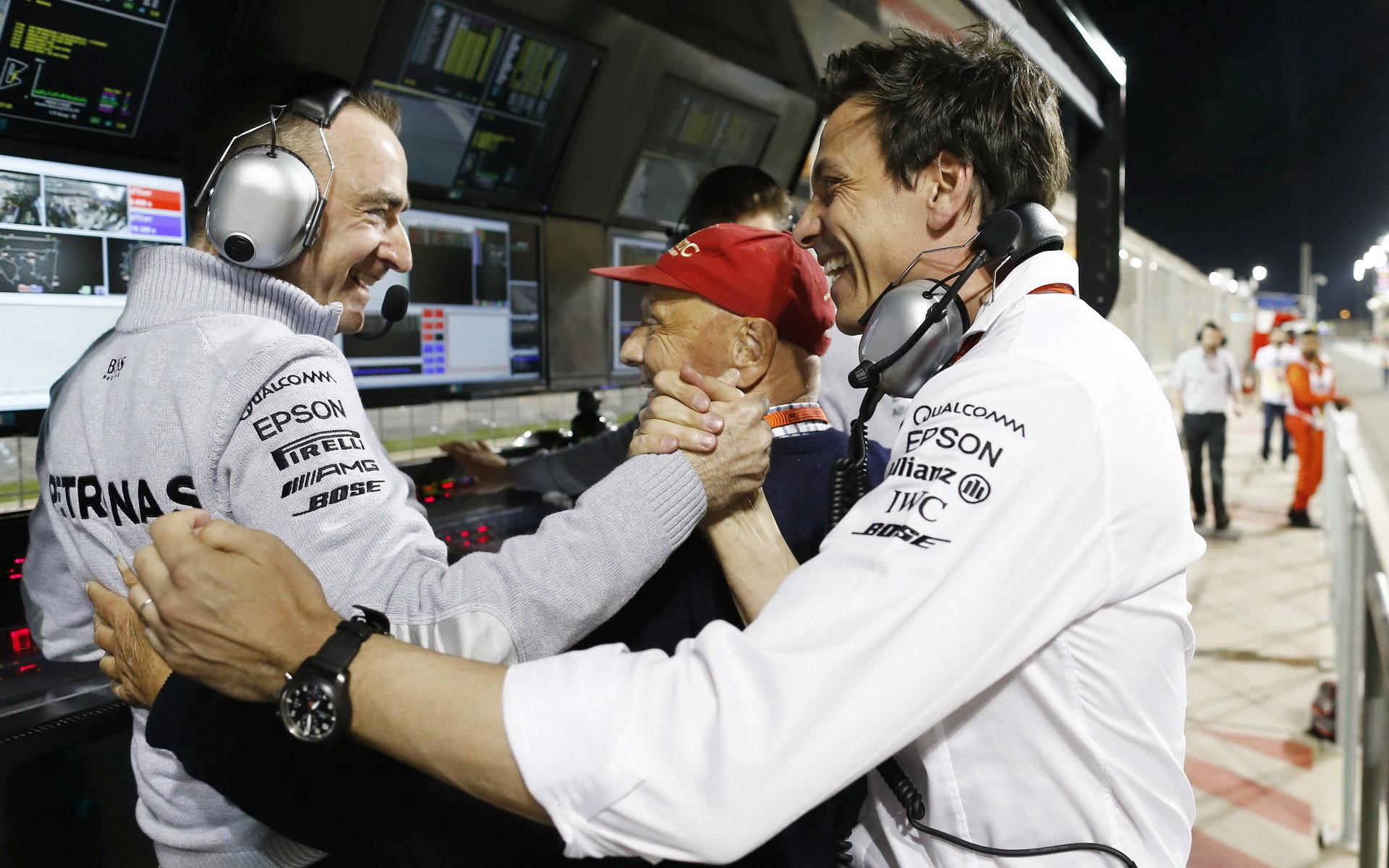 Paddy Lowe dosáhl s Mercedesem velkých úspěchů, bude se takto radovat s Williamsem?