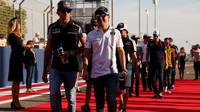 Prezentace pilotů před závodem v Bahrajnu