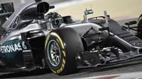 Nico Rosberg v závodě v Bahrajnu