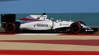 Felipe Massa při kvalifikaci v Bahrajnu