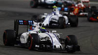 Felipe Massa v závodě v Bahrajnu