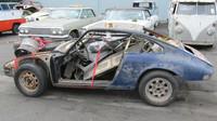 Porsche 911 2.5 S/T po letech chátrání.
