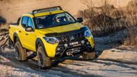 Koncept Mitsubishi L200 Monster je dílem polského zastoupení značky.
