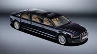 Audi A8 L extended vyrobené na individuální přání zákazníka.