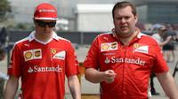 Kimi Räikkönen v Číně