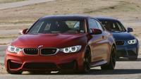 BMW M2 a M4 na okruhu