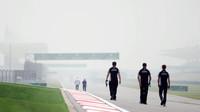 Nico Hülkenberg se seznamuje s tratí v Číně