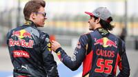 Daniil Kvjat a Carlos Sainz před závodním víkendem v Číně