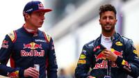 Max Verstappen a Daniel Ricciardo před závodním víkendem v Číně