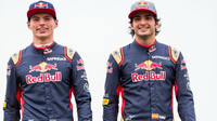 Max Verstappen a Carlos Sainz na počátku sezóny