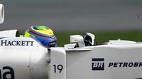 Felipe Massa při pátečním tréninku v Číně