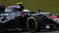 Jenson Button v kvalifikaci v Číně