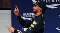 Daniel Ricciardo po kvalifikaci v Číně