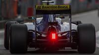 Marcus Ericsson v kvalifikaci v Číně