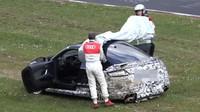Audi TT RS havarovalo na Nurburgringu