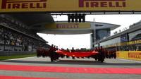 Zahajovací ceremoniál před závodem v Číně