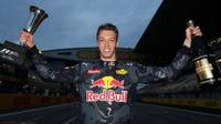 Daniil Kvjat po závodě v Číně