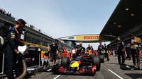 Daniel Ricciardo před závodem v Číně