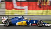 Marcus Ericsson v závodě v Číně