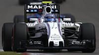 Valtteri Bottas v závodě v Číně