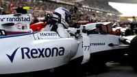 Valtteri Bottas po závodě v Číně