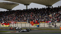 Felipe Massa v závodě v Číně