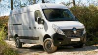 Renault Master může být nově vybaven pohonem všech kol.