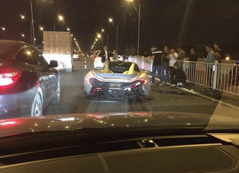 Mclaren P1 havaroval v Číně