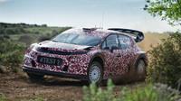 Takto Citroën vloni testoval C3 WRC