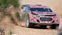 Citroën představil svůj tým v Abu Dhabi - anotační foto
