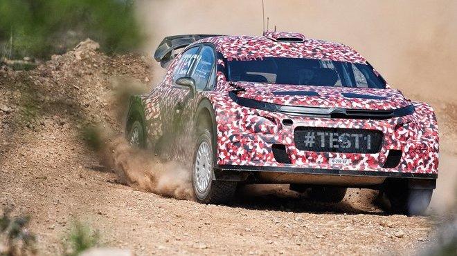 Citroën představil svůj tým v Abu Dhabi - anotačné foto