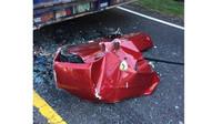 Nehod Ferrari 599 GTB