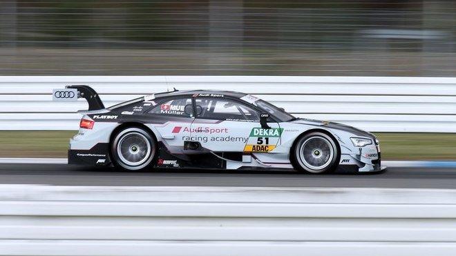 Audi oznamuje sestavu - přicházejí Loïc Duval a René Rast - anotačné foto