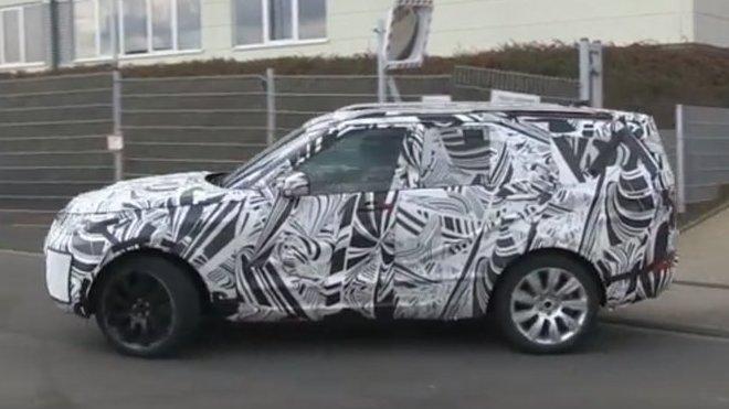 Land Rover Discovery nové generace zastižen při testech