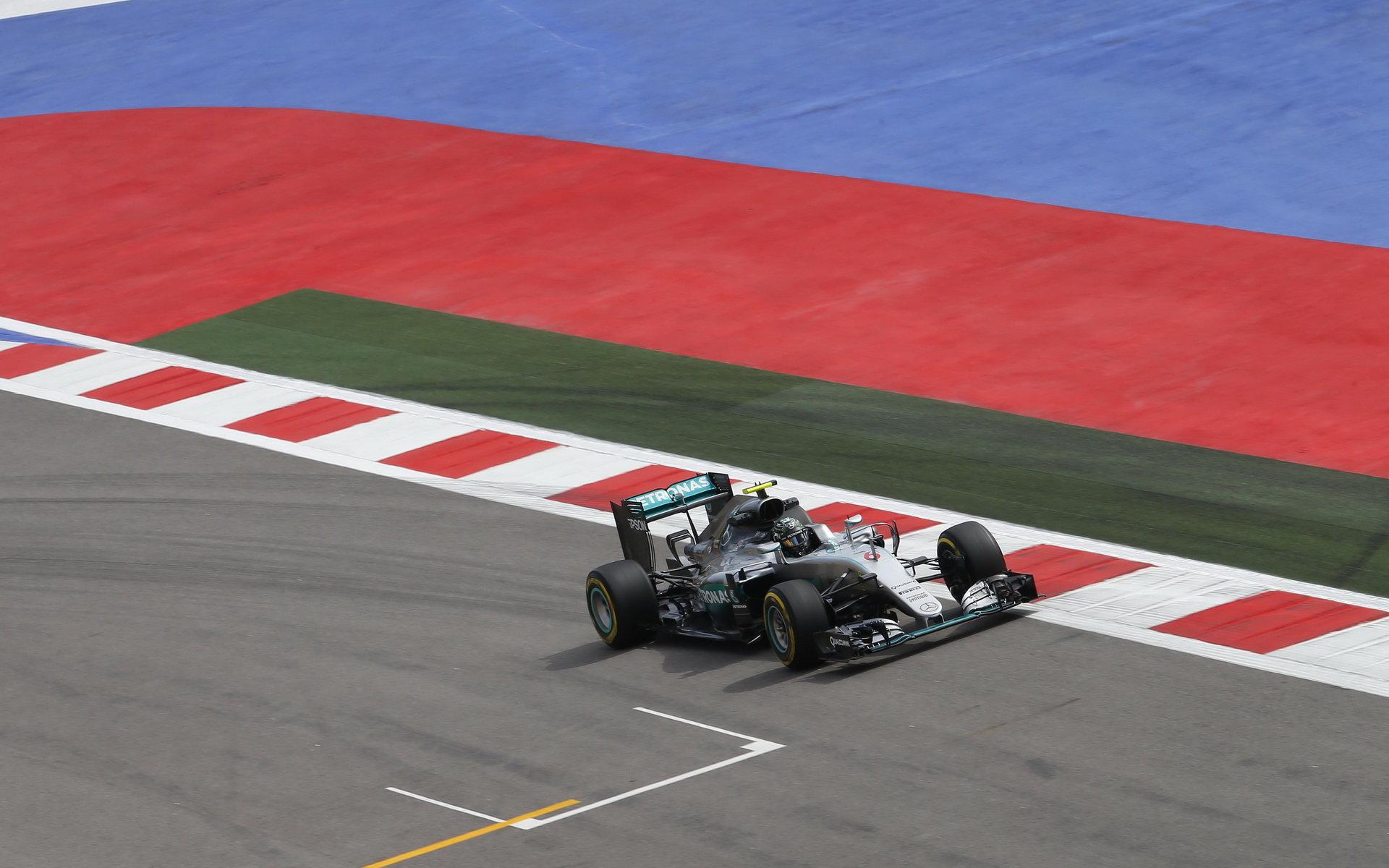 ANALÝZA: Rosberg dominoval ve třetím sektoru, Vettel s Ferrari 339 km/h - anotační foto