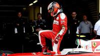 Kimi Räikkönen po kvalifikaci v Soči