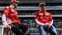 Sebastian Vettel a Kimi Räikkönen v Soči